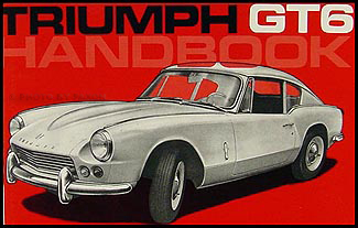 1967-1968 Triumph GT6 Owner's Manual Reprint