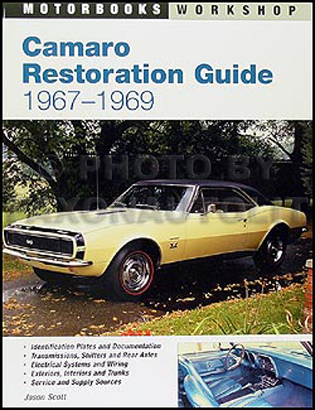 1967-1969 Camaro Restoration Guide