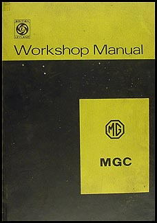 1967-1969 MGC Repair Manual Original
