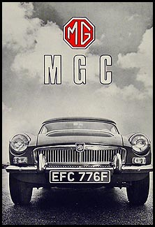 1967-1969 MGC Owner's Manual Reprint
