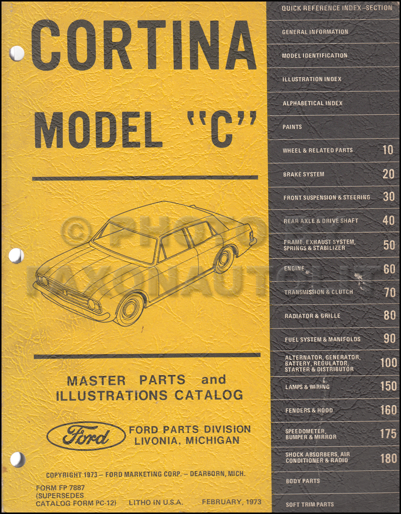 1967 Ford Cortina Repair Shop Manual Original Engine Diagram Related Products