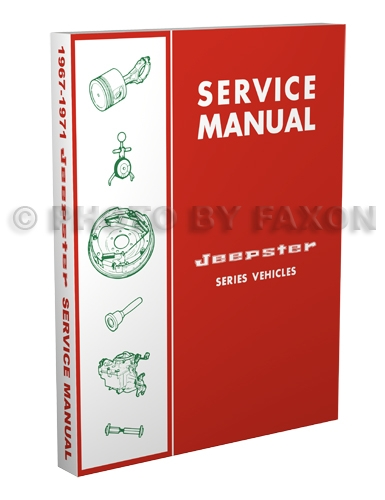 1967-1971 Jeepster & Commando Shop Manual Reprint