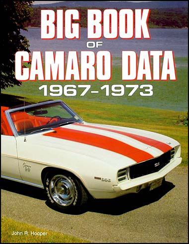Big Book of Camaro Data 1967-1973