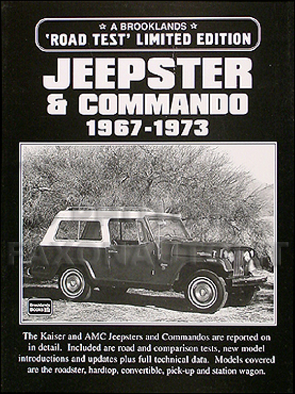 Brooklands 'Road Test' Limited Edition Jeepster & Commando Book