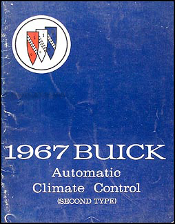 1967 Buick Climate Control Repair Shop Manual Riviera Electra LeSabre Wildcat
