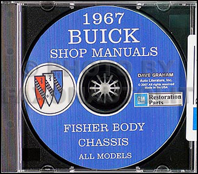 1967 Buick CD-ROM Shop Manual & Body Manual