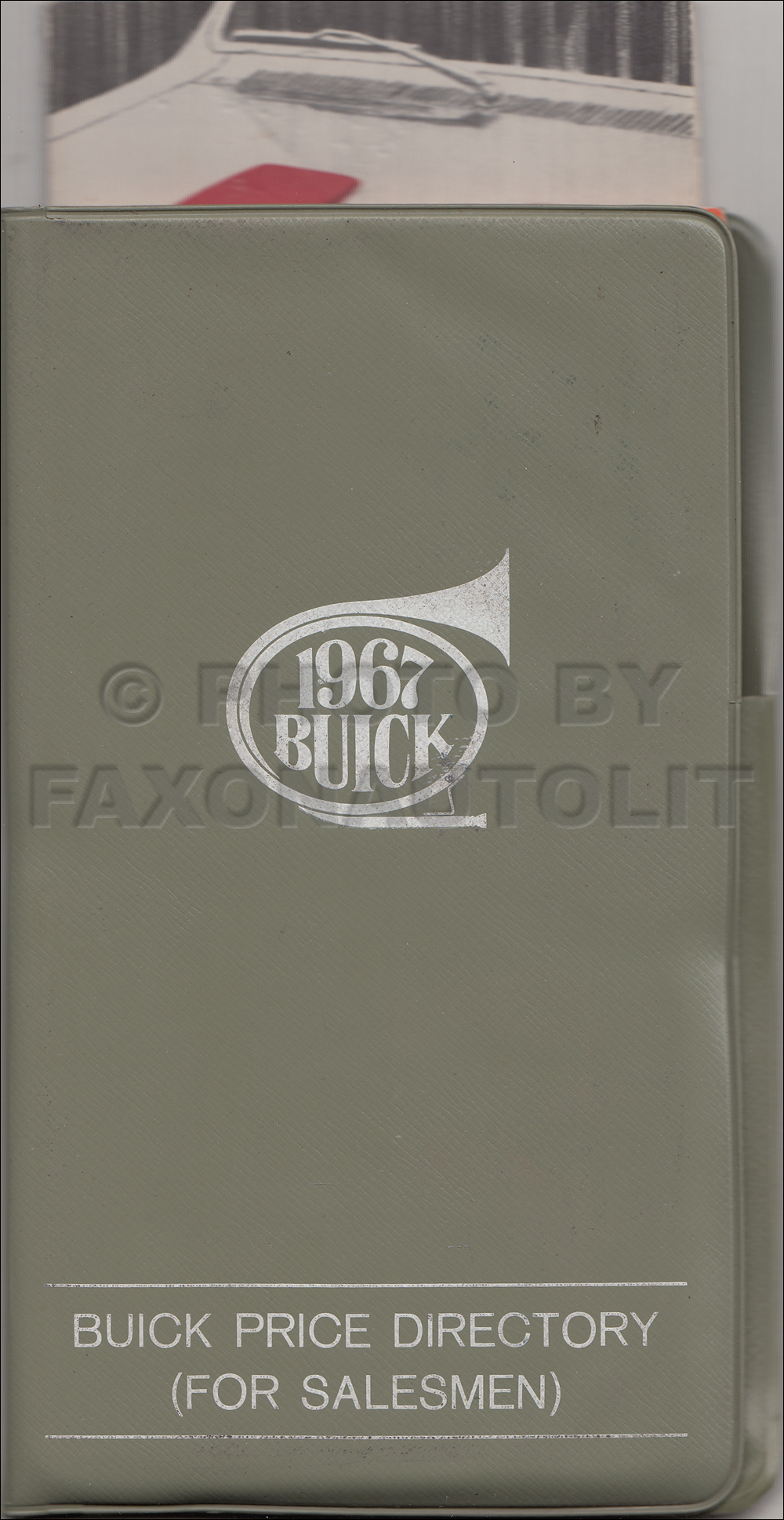 1967 Buick Pocket Facts Book Original
