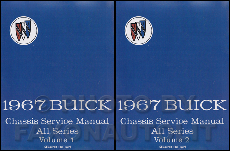 1967 Buick Shop Manual Reprint - All Models