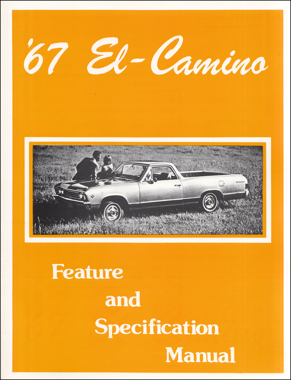 1967 Chevelle Malibu El Camino Wiring Diagram Manual Reprint 1964 Parts Chevrolet Feature And Specification