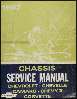 1967 Chevy Shop Manual Original  -- Impala, SS, Caprice, Chevelle, El Camino, Camaro, Chevy II/Nova, Corvette