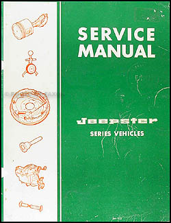 1967 Jeepster Shop Manual Original