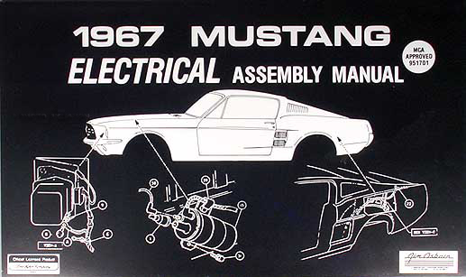 1967 ford mustang wiring diagram manual reprint1967 Mustang Electrical Wiring Diagram #19