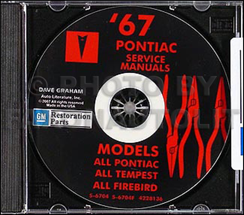 1967 Pontiac CD-ROM Shop and Body Manual All Models