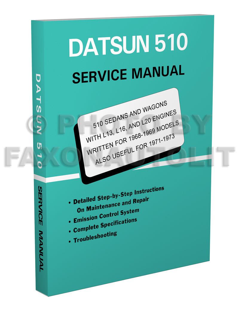 1979 Datsun 510 Repair Manual Original