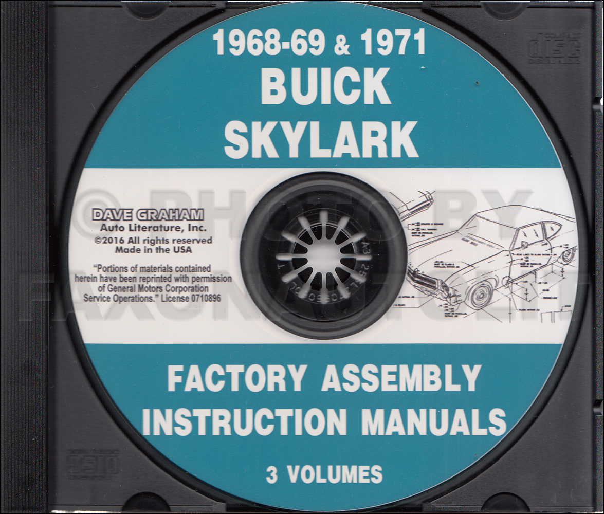 1950-1951 Buick Shop Manual CD-ROM