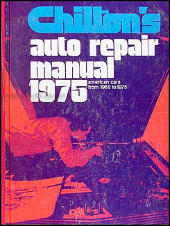 1968-1975 Chilton US Car Auto Repair Shop Manual