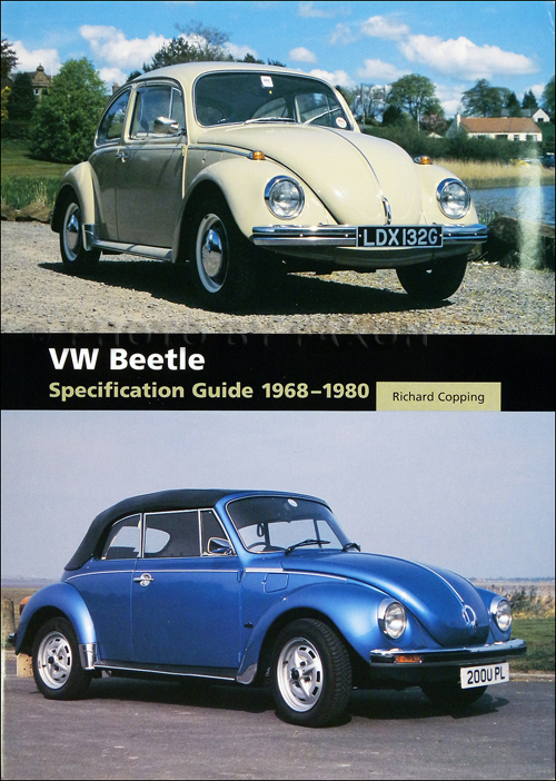 1968-1980 Volkswagen Beetle Bug Specification Guide