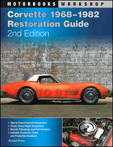 1968-1982 Chevrolet Corvette Restoration Guide