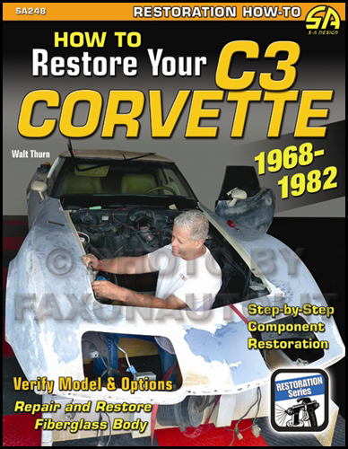 1968-1982 Chevrolet Corvette C3 Restoration Guide