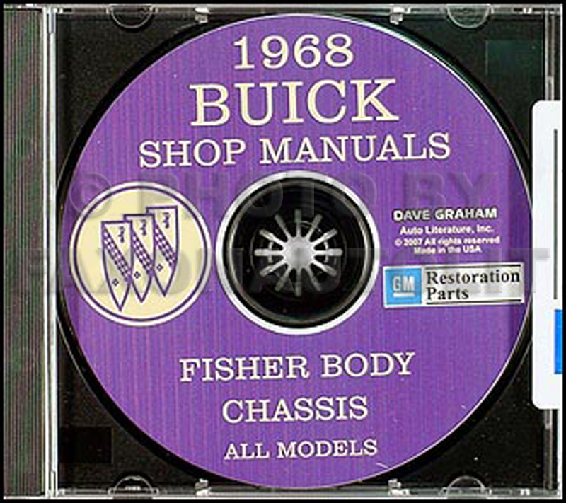 1968 Buick CD-ROM Shop Manual and Body Manual