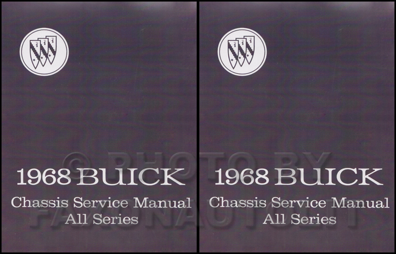 1968 Buick Shop Manual Reprint - All Models