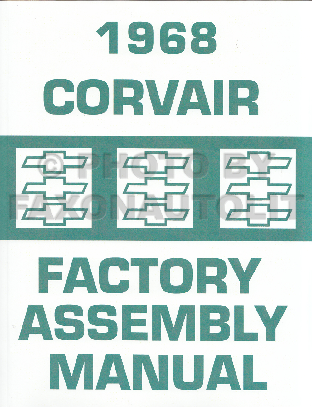 1968 Chevy Corvair and Monza Assembly Manual Reprint