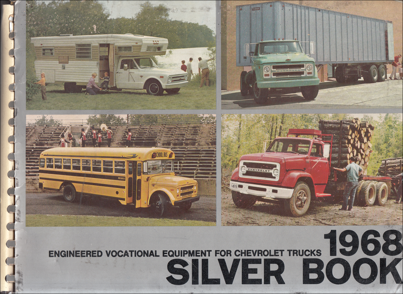 1968 Chevrolet Truck Silver Book Special Equipment Dealer Album