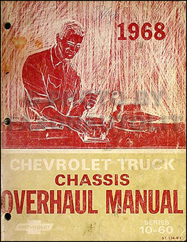 1968 Chevy Pickup And Truck Cd Repair Shop Manual And Overhaul Manual
