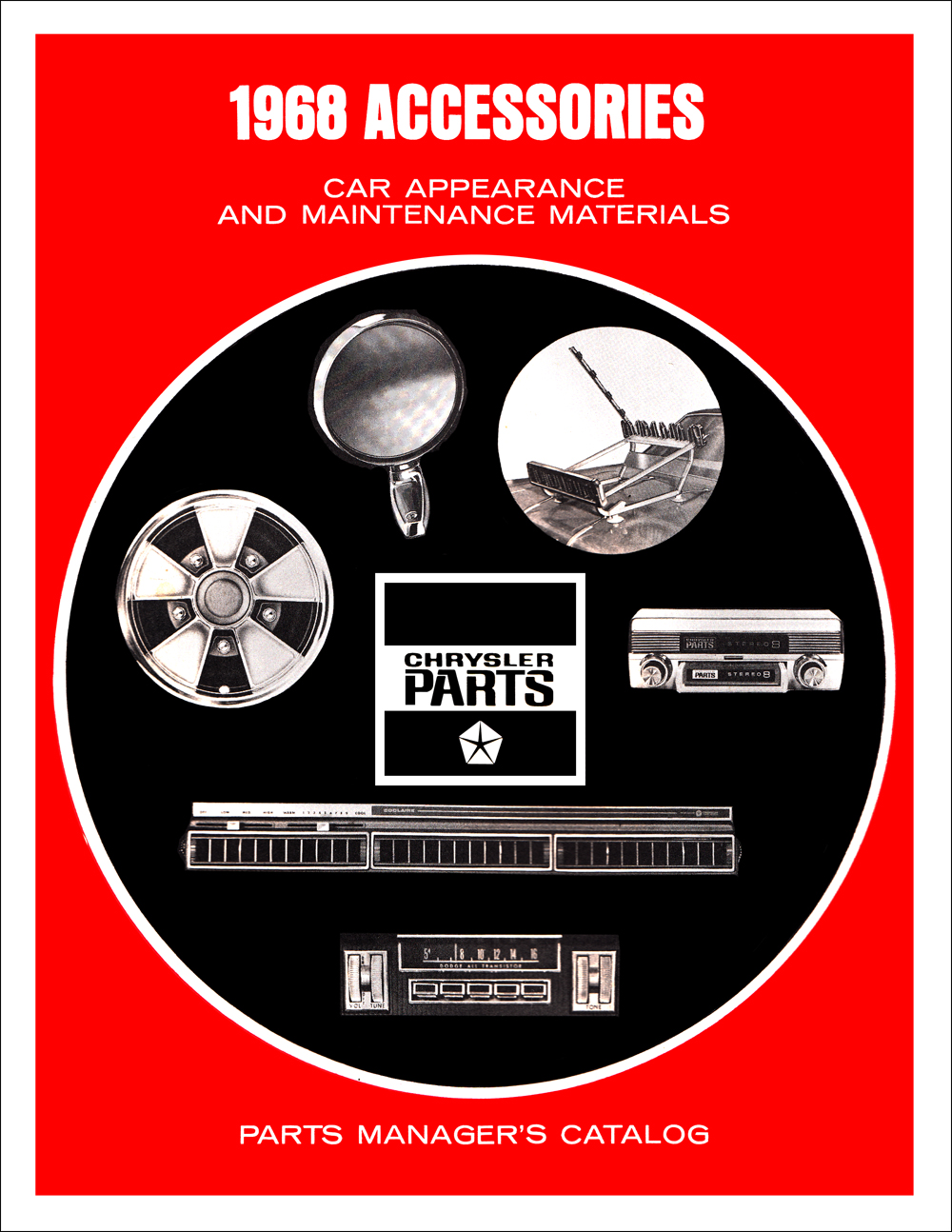 1968 MoPar Accessories Parts Book Reprint
