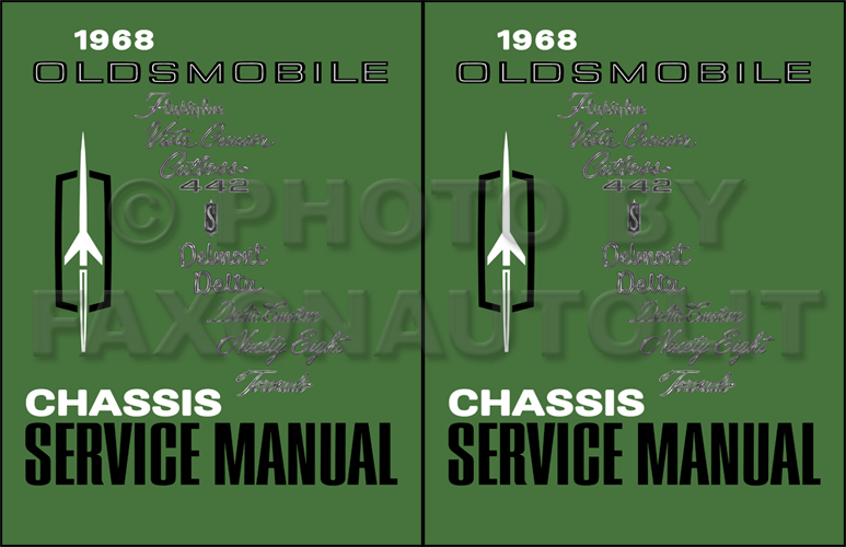 1968 Oldsmobile Repair Shop Manual Reprint
