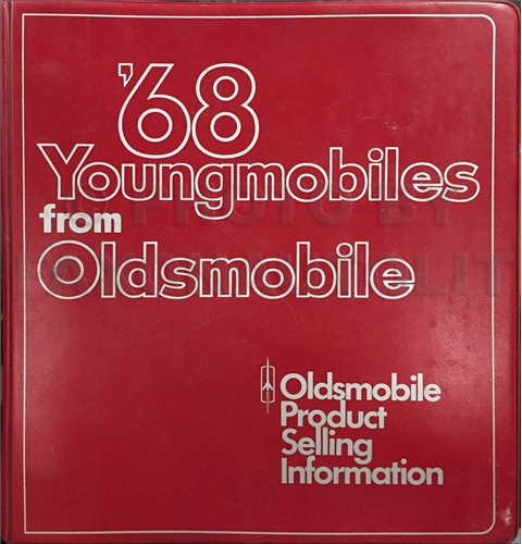 1968 Oldsmobile Data Book Original