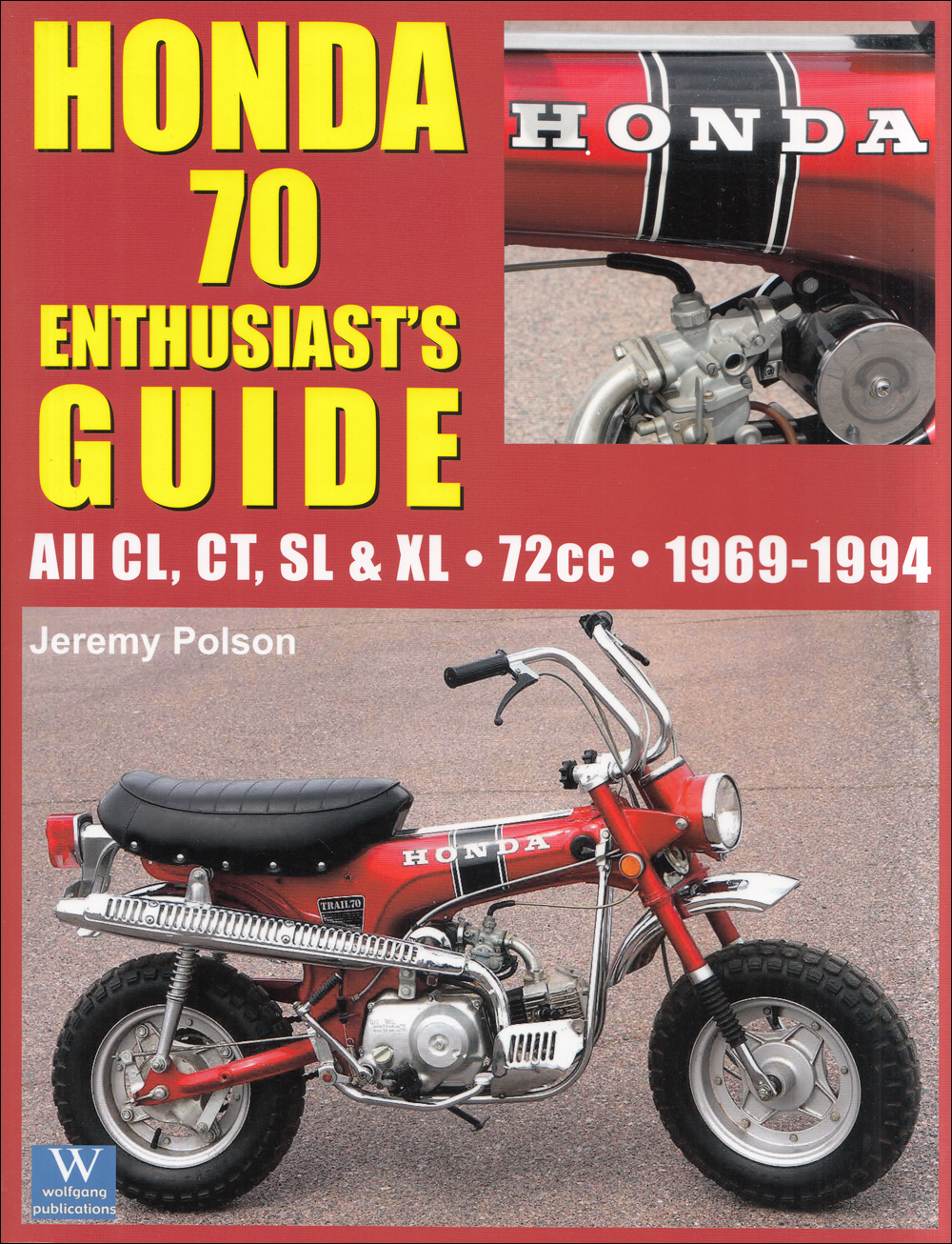 1971 1976 Honda Xr75 Sl70 Repair Shop Manual Cycleserv Cl70 Wiring Diagram Related Products