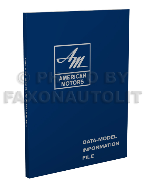 1969 AMC Model Information File Reprint