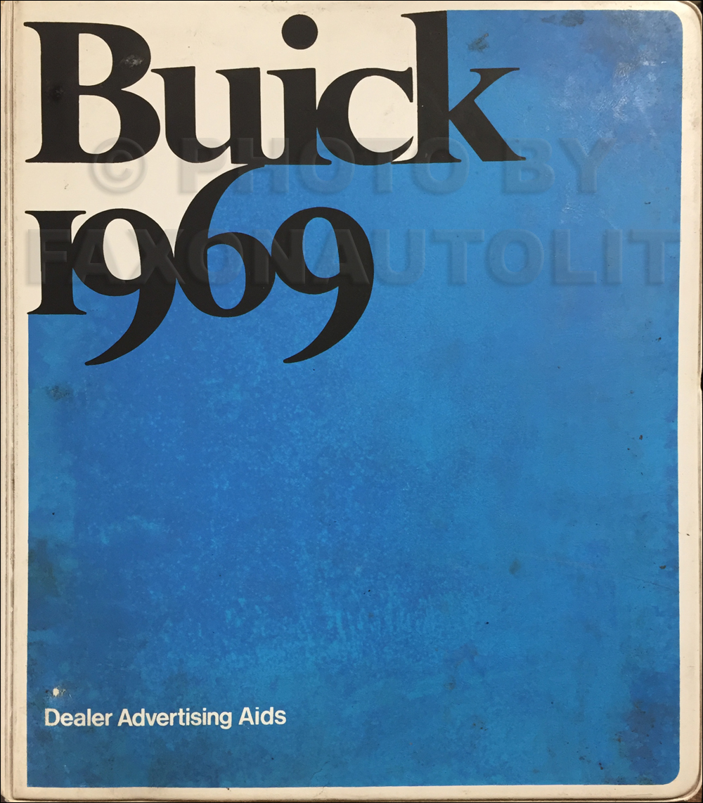 1969 Buick Dealer Advertising Planner Original