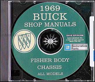 1969 Buick CD-ROM Shop Manual and Body Manual