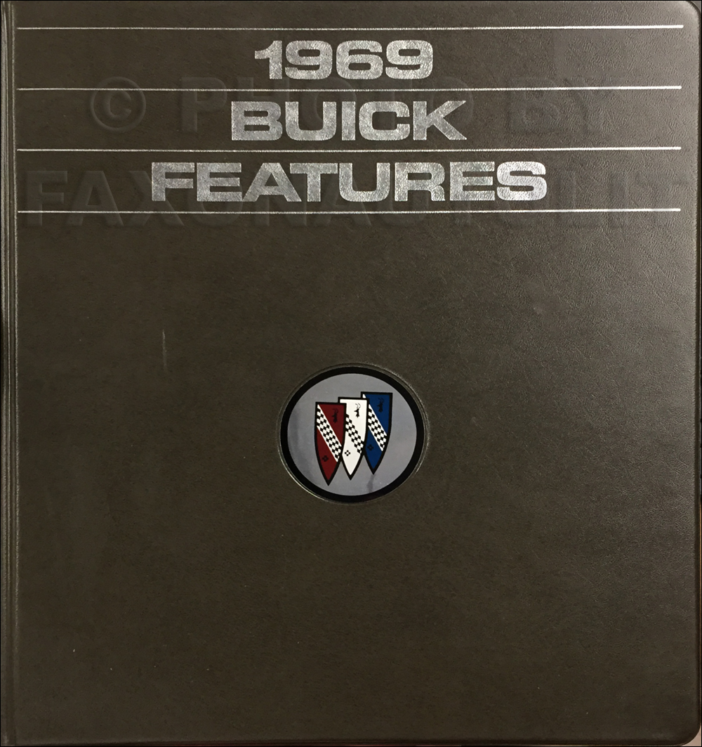 1969 Buick Data Book Original