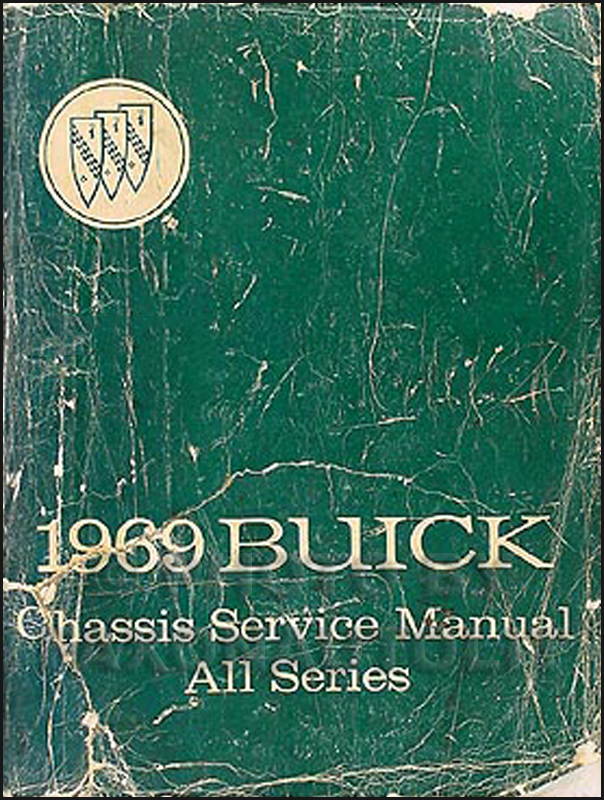 1969 Buick Shop Manual Original GS/Skylark/Riviera/LeSabre