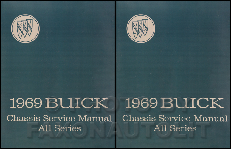 1969 Buick Shop Manual Reprint - All Models