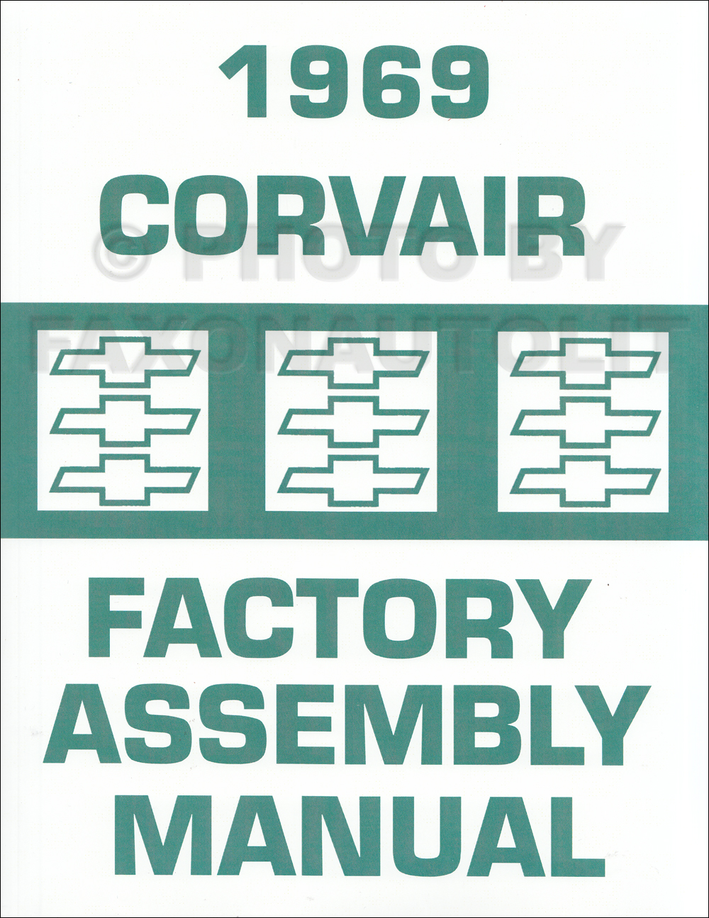 1969 Chevy Corvair and Monza Assembly Manual Reprint