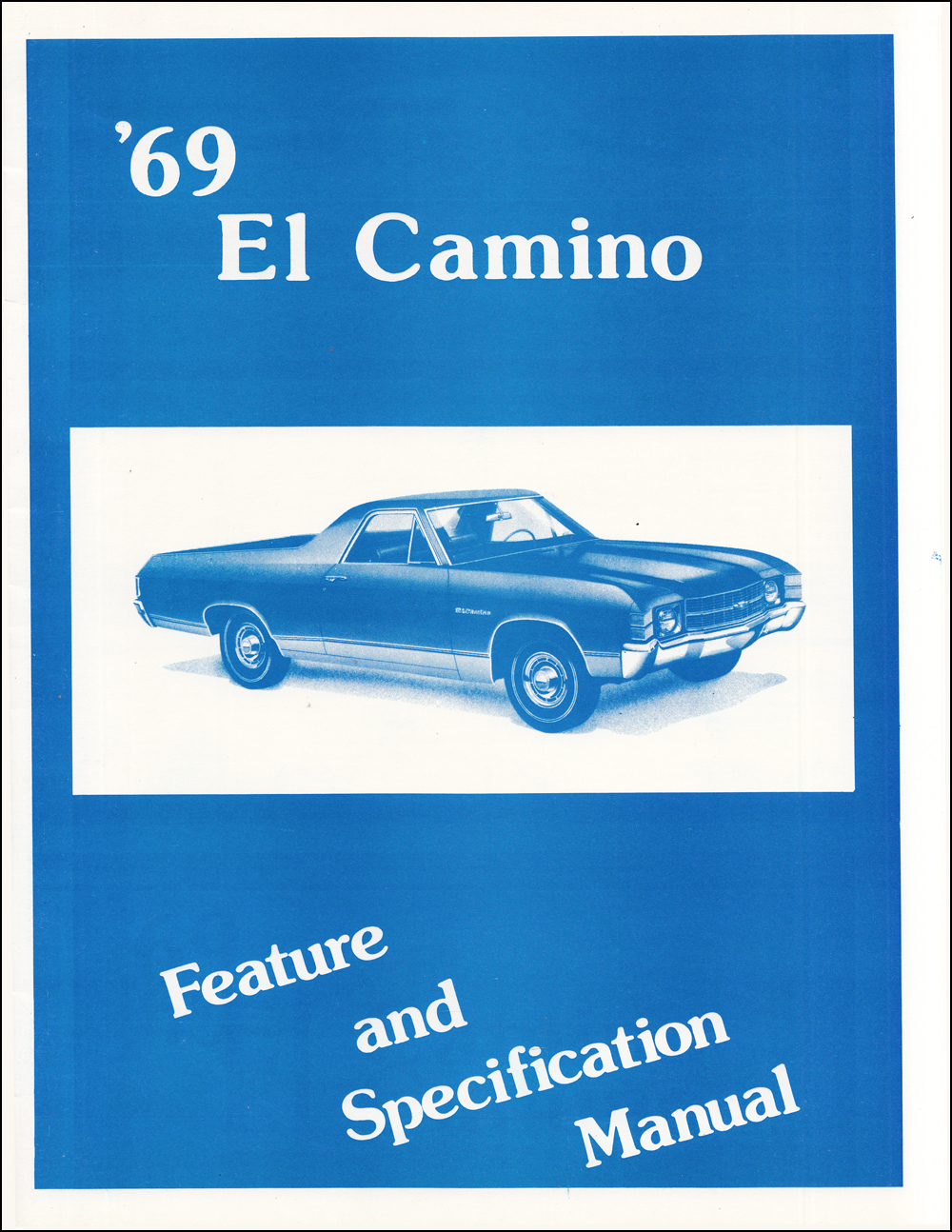 1969 Chevelle Wiring Diagram Manual Reprint With Malibu
