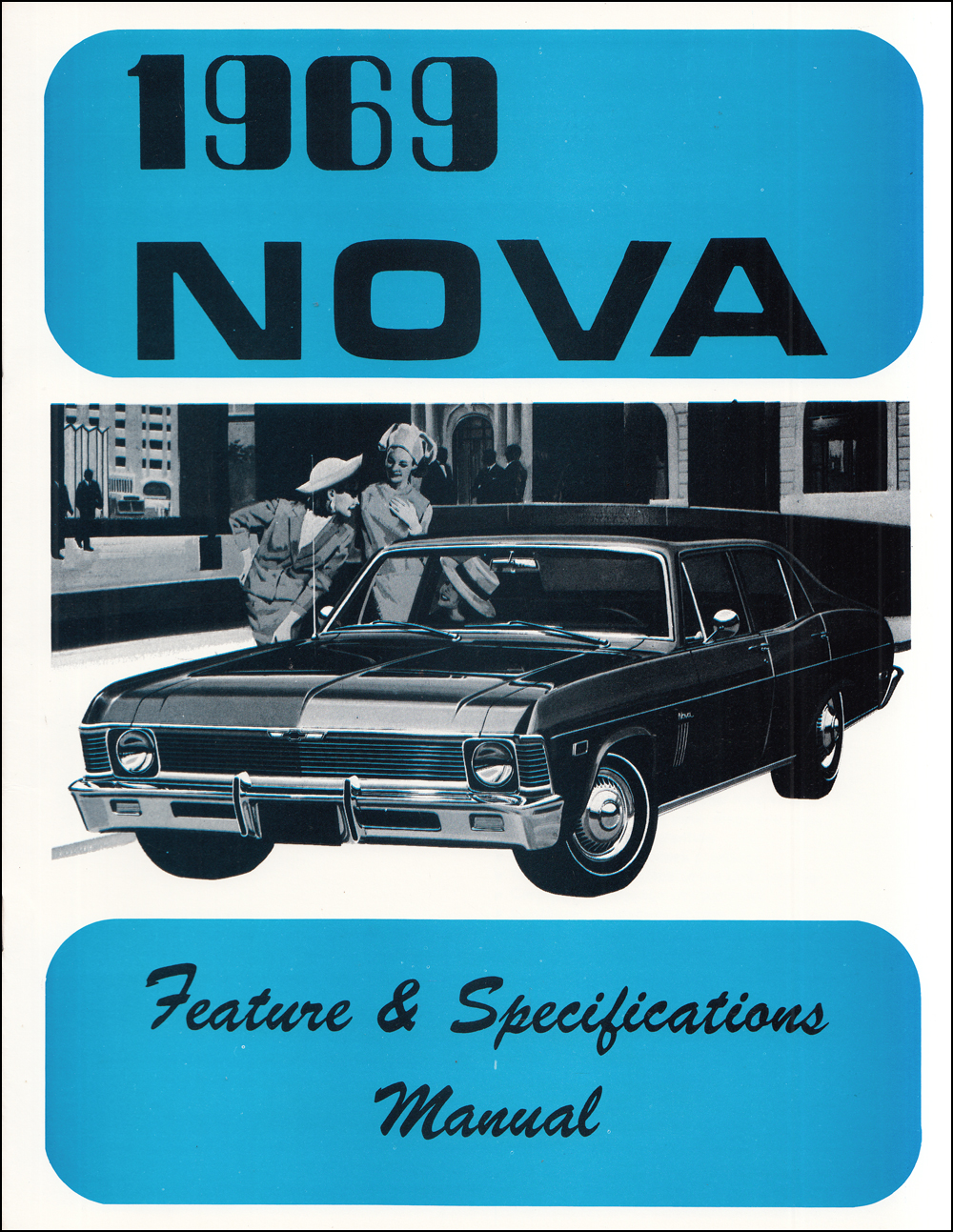 1969 Chevy Ii  U0026 Nova Wiring Diagram Manual Reprint