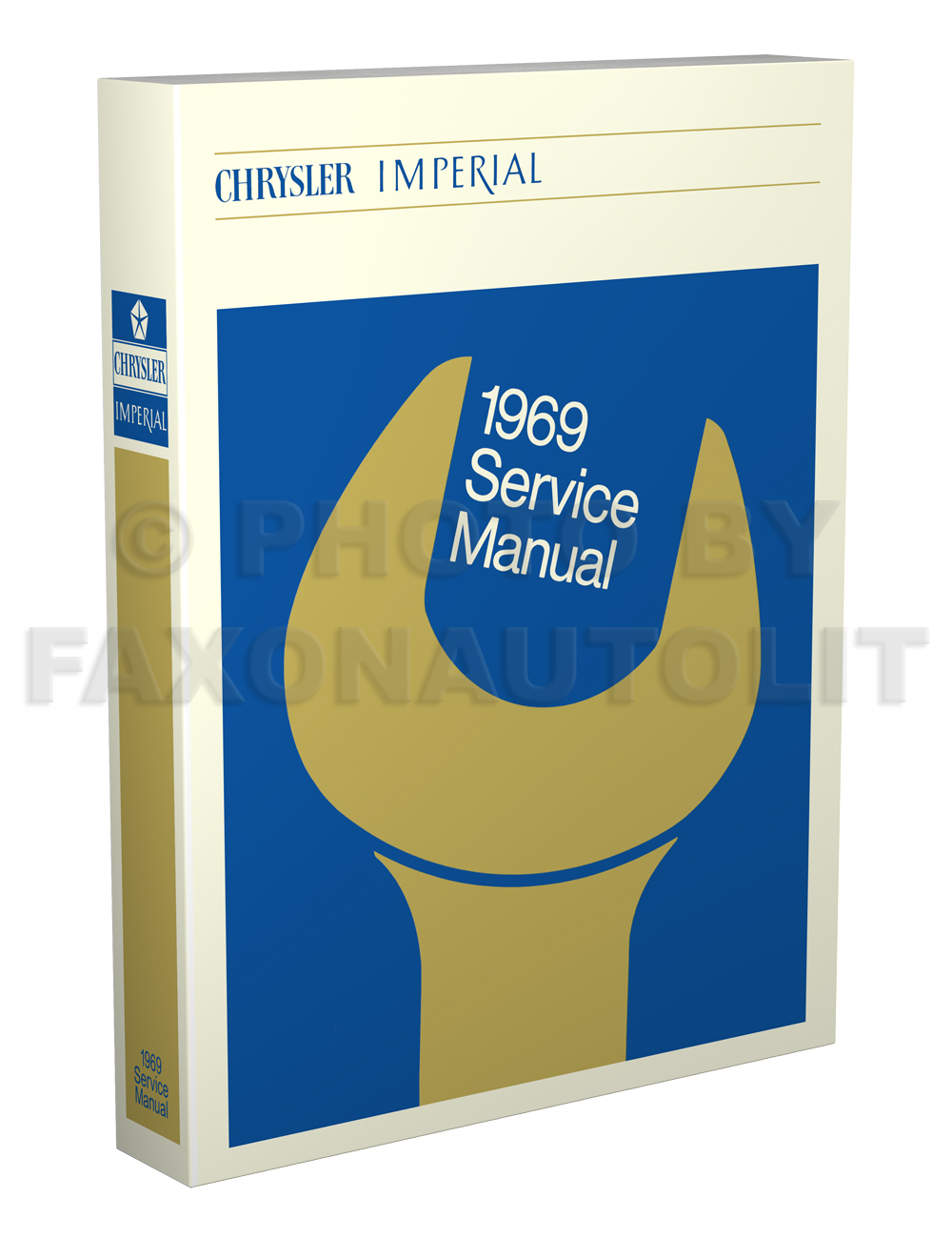 1969 Chrysler & Imperial Shop Manual Reprint