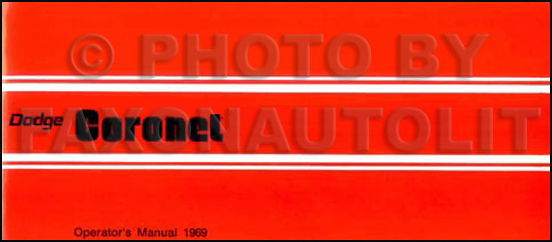 1969 Dodge Coronet And Super Bee Chassis Assembly Manual