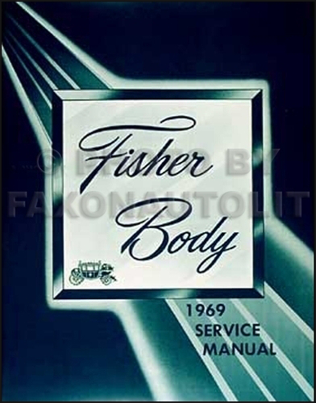 1969 Buick Body Repair Shop Manual Reprint