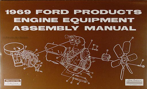 1969 Ford, Lincoln, & Mercury Engine Equipment Assembly Manual Reprint