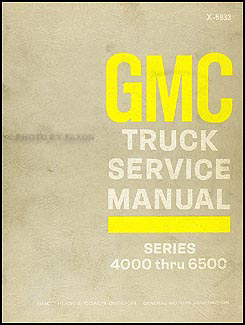 1969 GMC 4000-6500 Repair Manual Original Medium Duty