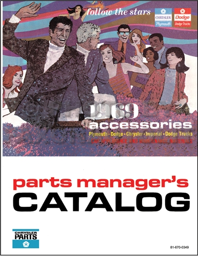 1969 MoPar Accessories Parts Book Reprint