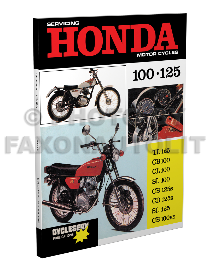 1975-1976 Honda CB500T Motorcycle Shop Manual Cycleserv