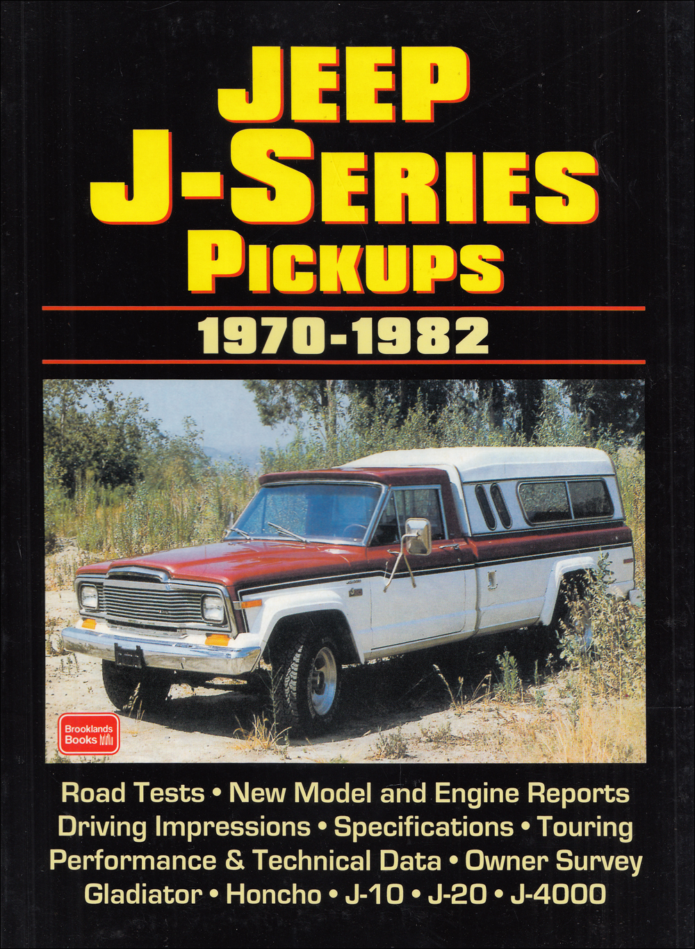 Book of 26 magazine articles 1970-1982 Jeep Pickup Gladiator J-10 J-20 Honcho