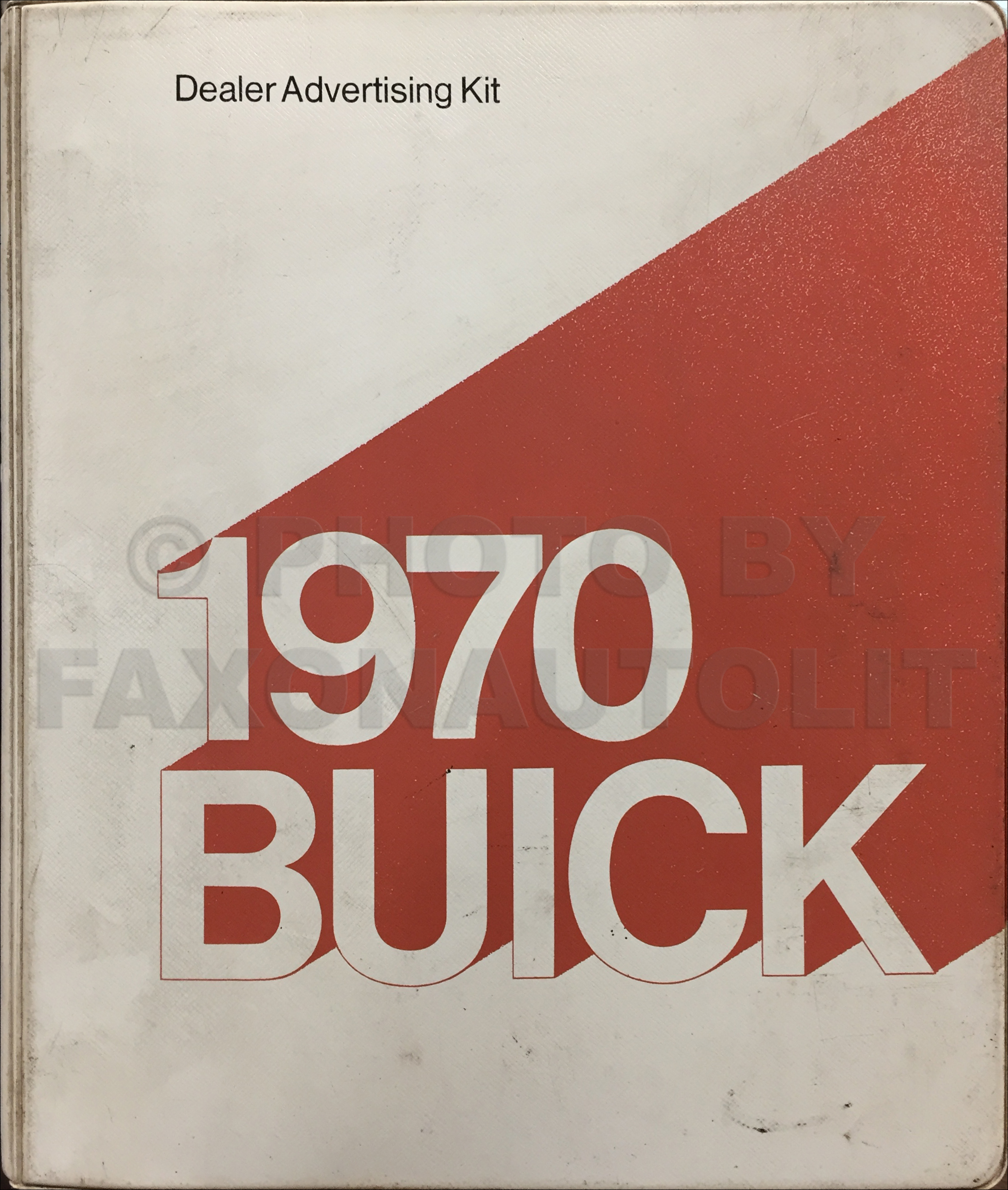 1970 Buick Dealer Advertising Planner Original